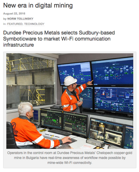 Image: Sudbury Mining Solutions Journal